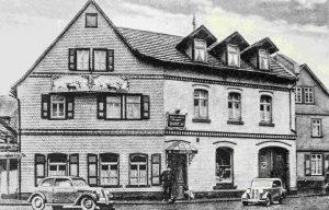 Früheres Zinn-Haus.