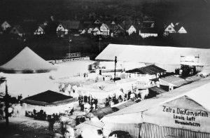 Der Düdelsheimer Markt.