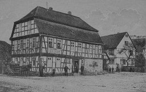 Das Gebhardtsche Haus.